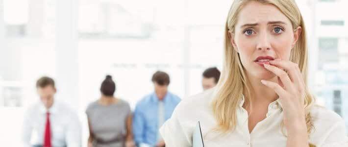 פחד מראיונות עבודה
