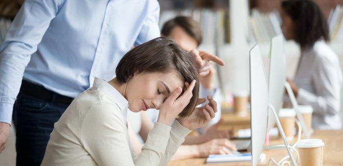 התנהגות לא ראויה בעבודה